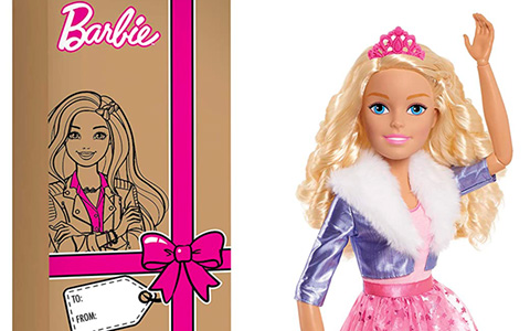 Barbie Princess Adventure Best Friend 28-Inch doll