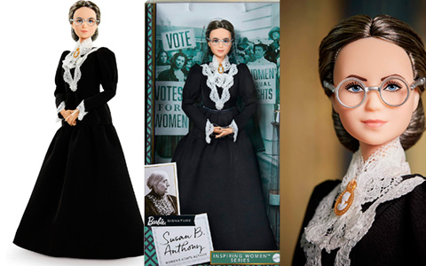 Barbie Susan B. Anthony doll