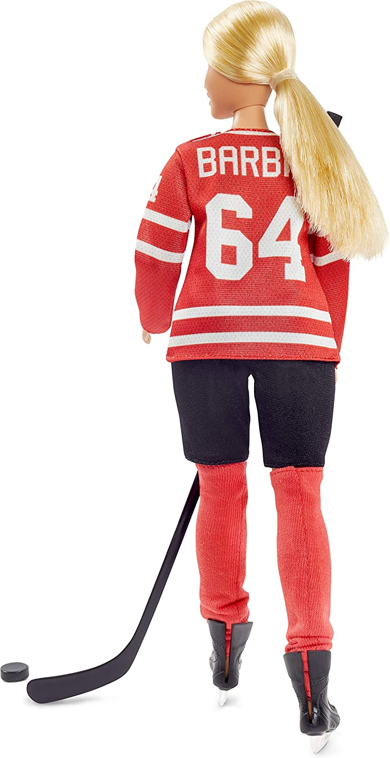 Mattel Barbie Signature Series Tim Hortons New 2020 Doll Ice Hockey Canada