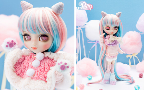 Pullip Fluffy CC (Cotton Candy) doll - new release for November 2020