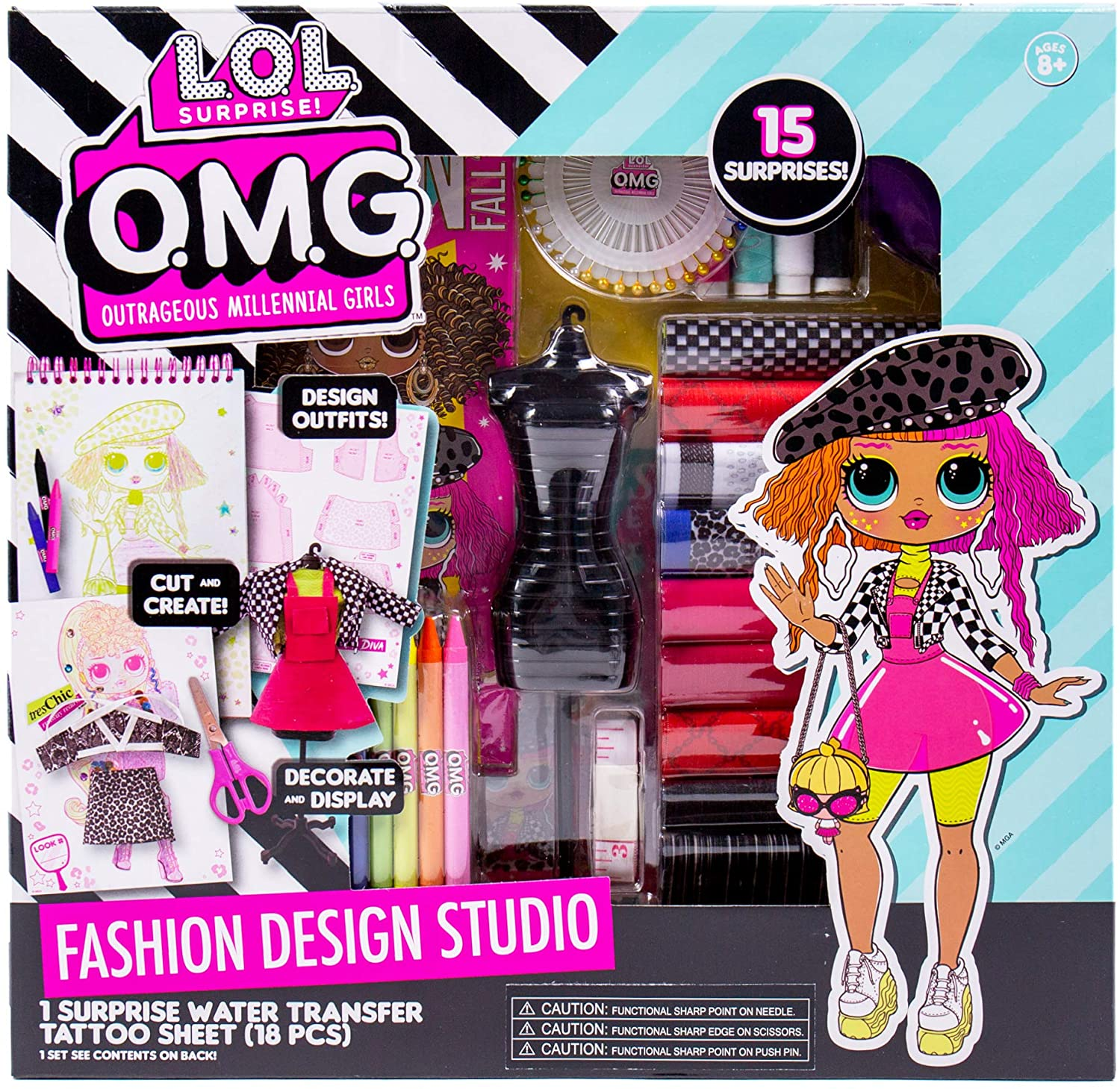 Lol Omg Fashion Design Studio Diy Create Your Own Outfits For Omg Dolls Youloveit Com