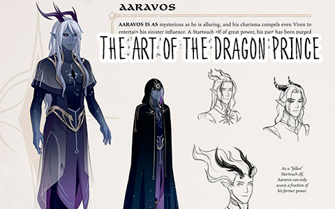 The Art of the Dragon Prince book is released