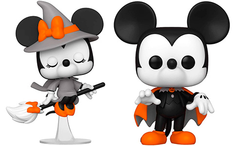 Funko Pop Halloween Minnie and Mickey Mouse