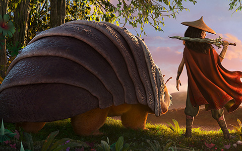 First Raya and the Last Dragon first fully rendered CG image