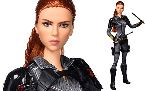 Barbie Black Widow Collector Doll 2020 in black suit is available now