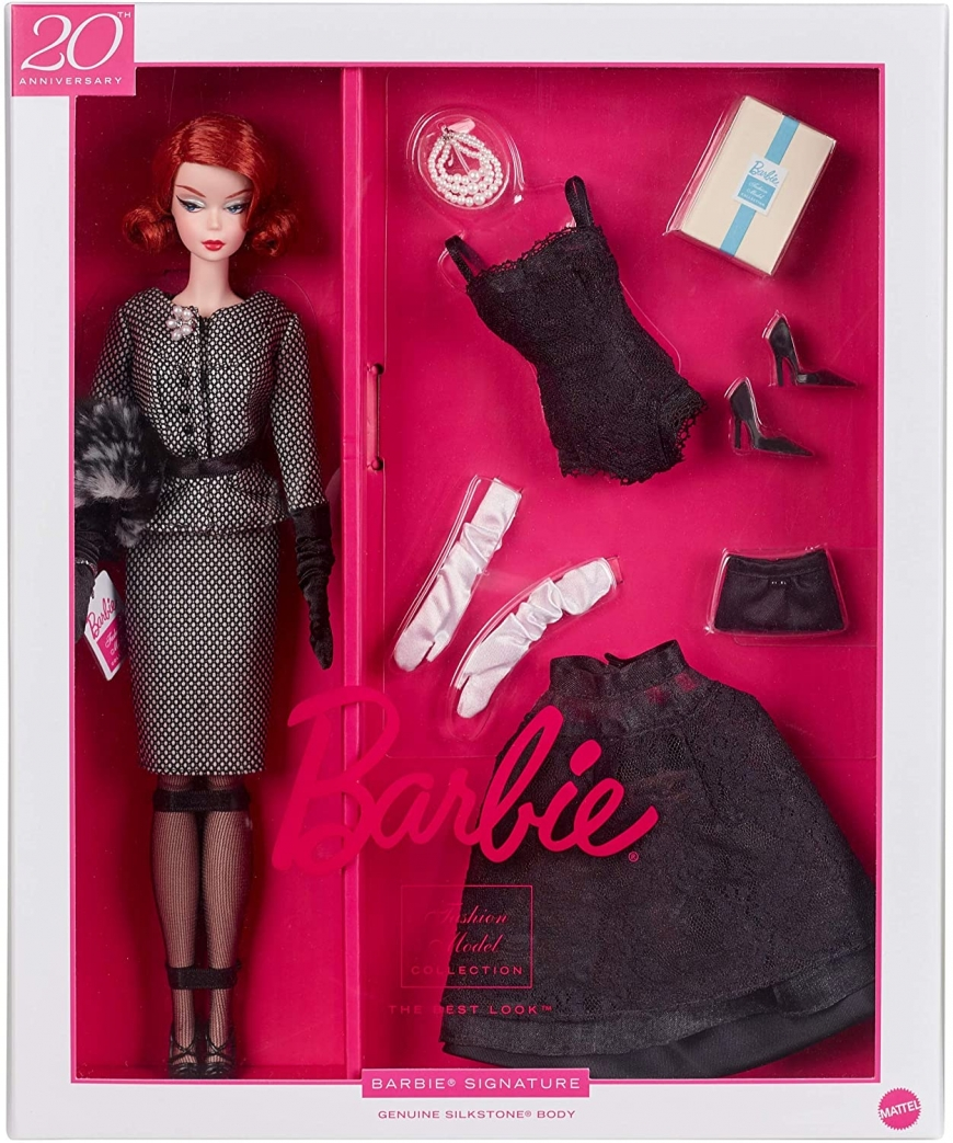 Barbie The Best Look Silkstone gift set