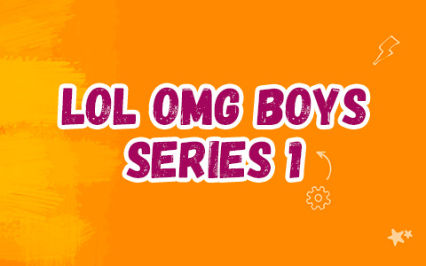 LOL OMG Boys series 1 doll - LOL OMB Doodles