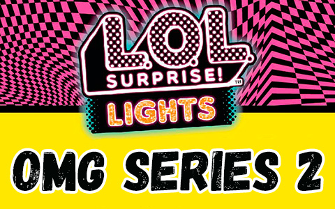 LOL OMG  Dance Crew Lights series 2 dolls: Major Lady, B-Gurl, Virtuelle and Miss Royale in 2021