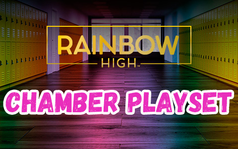 Rainbow High Chamber Playset – new doll set with UV light chamber