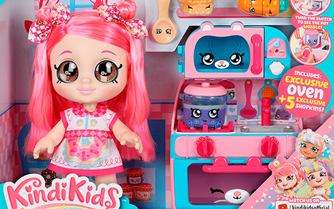 Kindi Kids Kindi Fun Oven with new Donatina or Summer Peaches dolls