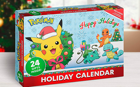 Pokemon Advent Calendar 2020 - first ever advent calendar with pokemon!