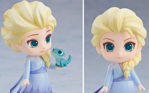 New Nendoroid Frozen 2 Elsa Blue Dress figure