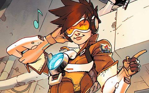 New Overwatch: Tracer-London Calling comics from Dark Horse