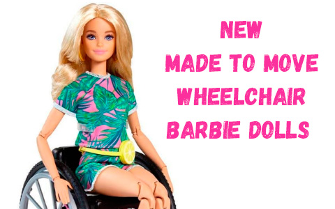Barbie Fashionista #165 Beautiful Blonde Made To Move In Wheelchair New 2021