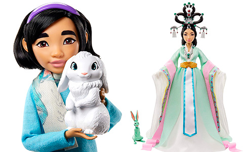 Mattel's Netflix Over the Moon dolls are released!