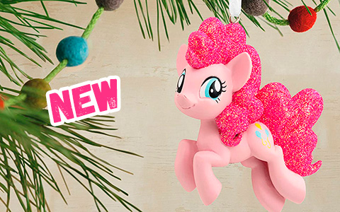 New My Little Pony Pinkie Pie 2020 Hallmark Christmas Ornament