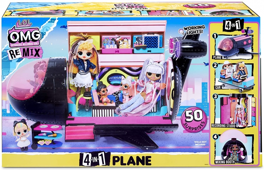LOL Omg Remix Plane