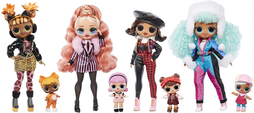 LOL OMG Winter Chill dolls