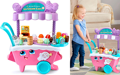 LeapFrog Scoop and Learn Ice Cream Deluxe Cart