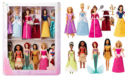 Disney Store Princess dolls gift set 2020