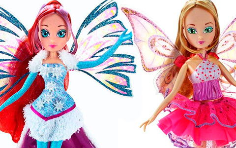New Winx Club dolls Winx Spinning Enchantix and Crystal Sirenix 2020 are released