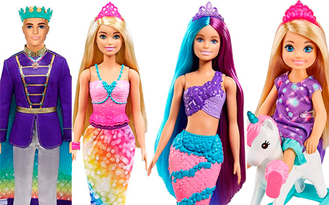 New Barbie Dreamtopia dolls 2021