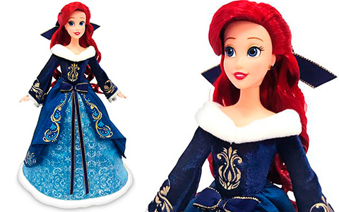 Disney Store Ariel 2020 Holiday Special edition doll