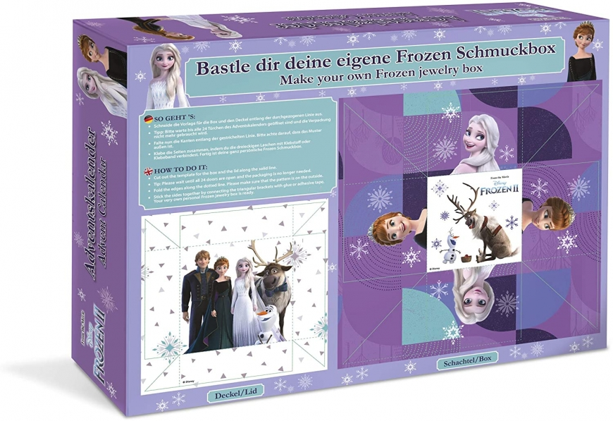 Frozen 2 Advent Calendar 2020 craze