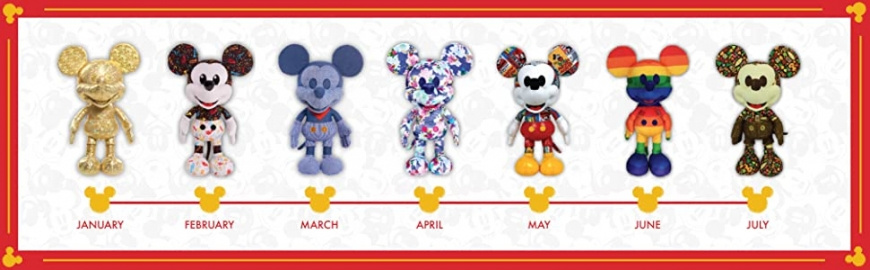 Disney Year of the Mouse limited edition plush pack