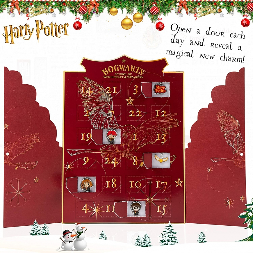 Harry Potter Advent Calendar with charms 2020