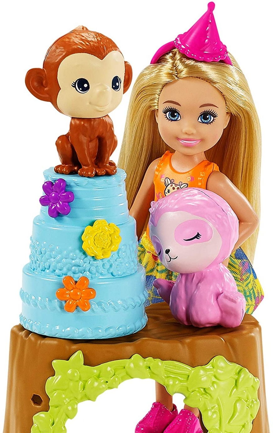 Barbie and Chelsea The Lost Birthday playset