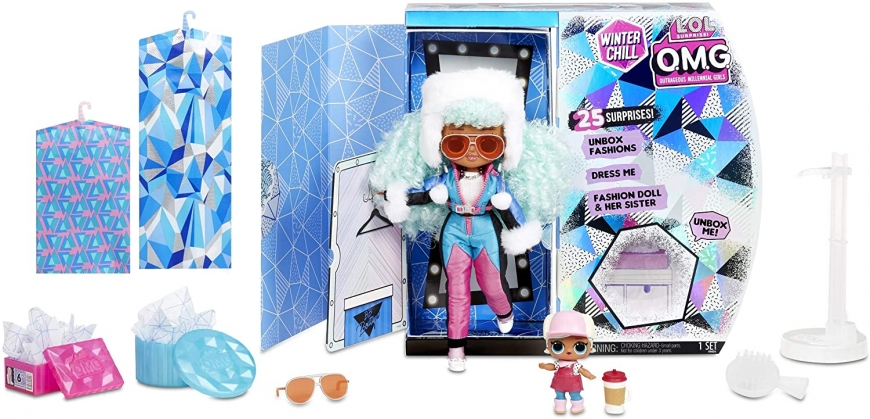 LOL OMG Winter Chill Icy Gurl doll