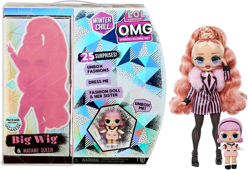 LOL OMG Winter Chill Big Wig doll