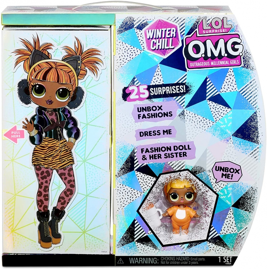 LOL OMG Winter Chill Missy Meow doll