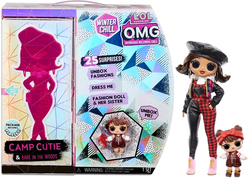 Camp Cutie doll in box