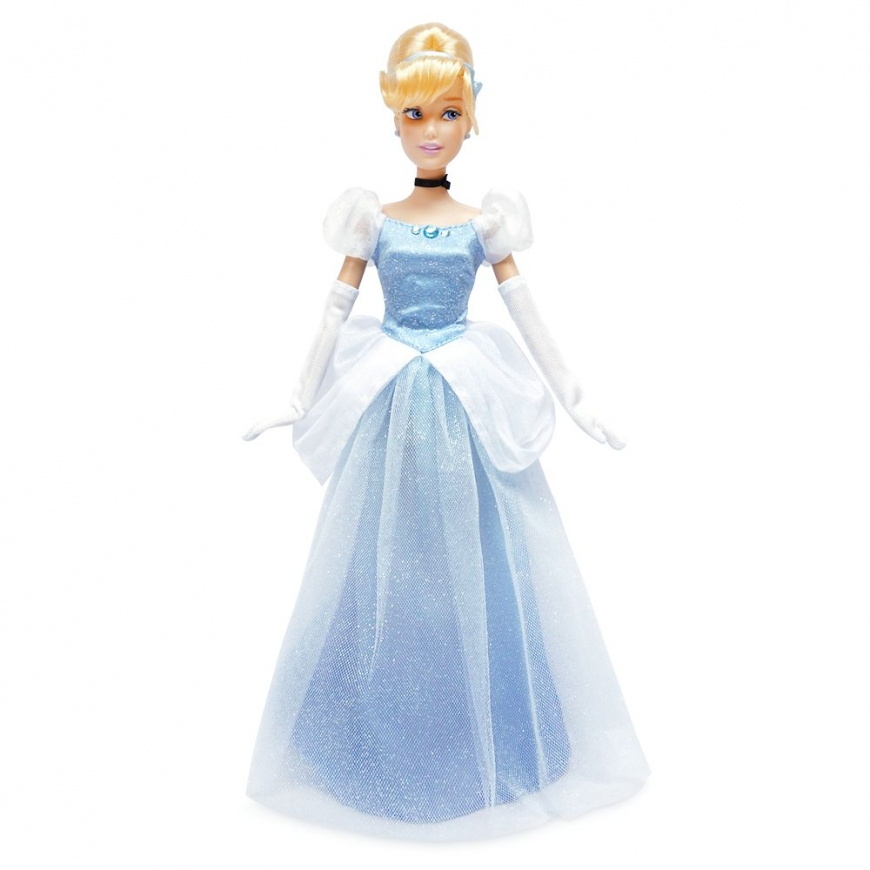 New Disney Store Cinderella Classic Doll Deluxe Gift Set with carriage