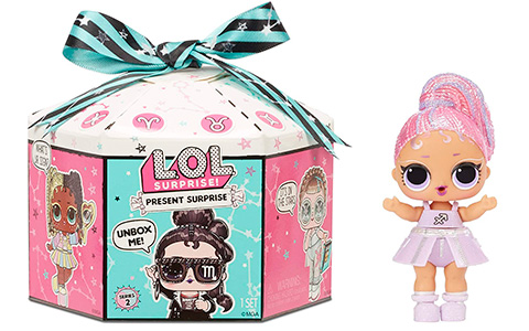 LOL Surprise Present Surprise Series 2 Zodiac Star Sign dolls