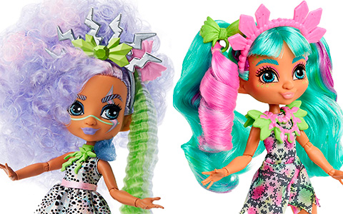 Mattel Cave Club Bashley and new Rockelle dolls