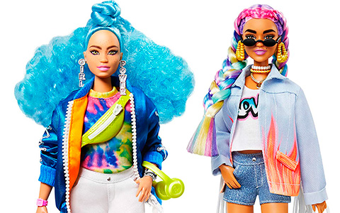 New Barbie Extra dolls 4 and 5 are available for preorder