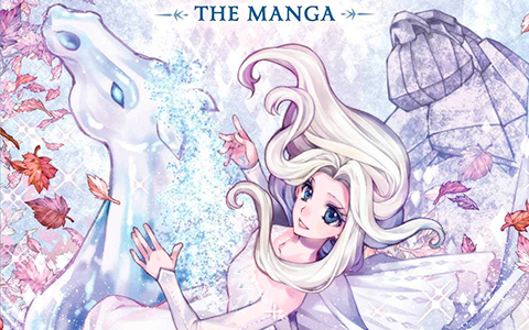 Disney Frozen 2 the Manga is released!
