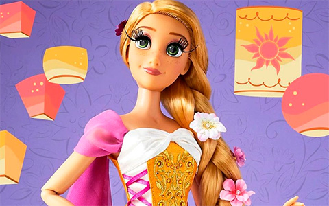 Tangled 10 years anniversary Rapunzel Limited Edition doll 2020
