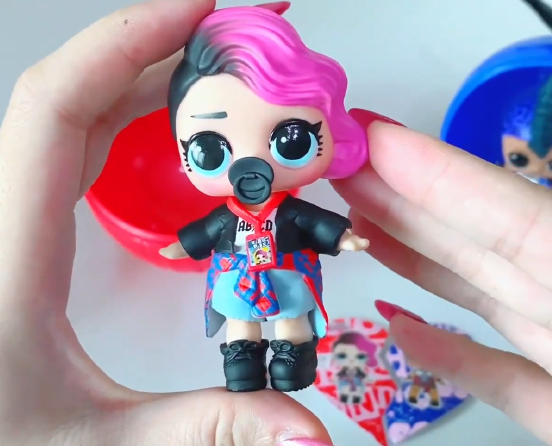 LOL Surprise Limited Edition BFF Sweethearts Punk Boi and Rocker dolls