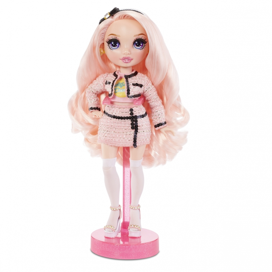 Rainbow High Bella Parker pink doll