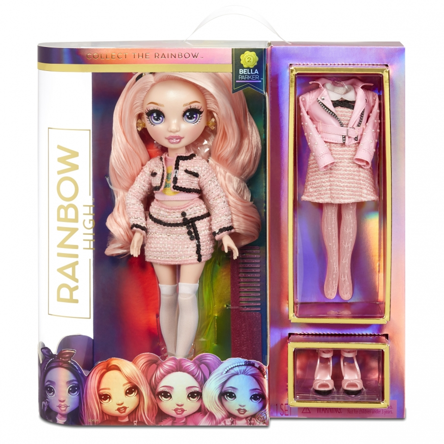 Rainbow High Bella Parker pink doll series 2