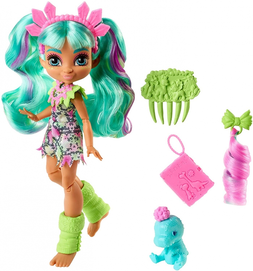New Cave Club Rockelle doll with accessories