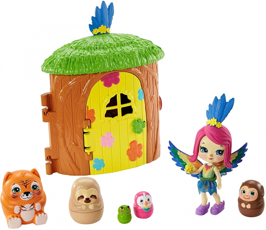 Enchantimals Peeki Parrot Tree Hut