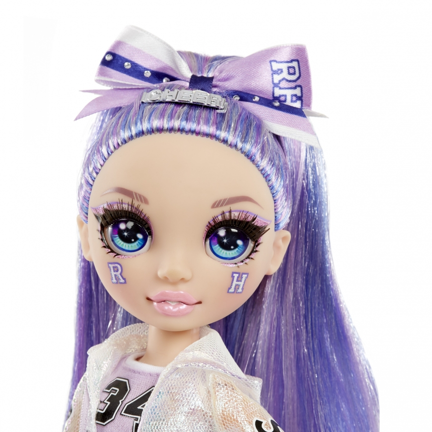 Rainbow High Cheer Violet Willow doll