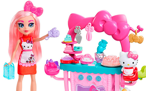 Hello Kitty and Friends So-Delish Kitchen Playset