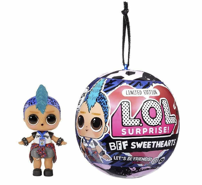 LOL Surprise Limited Edition BFF Sweethearts Punk Boi