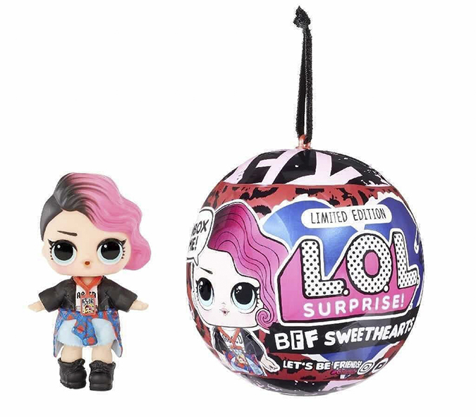 LOL Surprise Limited Edition BFF Sweethearts Rocker